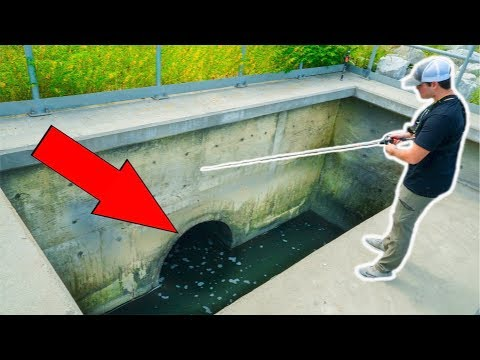 Video Fishing HIDDEN Storm Drains!!! (Surprise Catch) download in MP3, 3GP, MP4, WEBM, AVI, FLV January 2017
