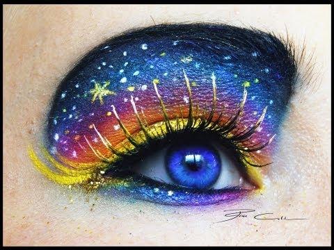 UNIVERSO STELLATO ♥ Make-up FANTASIA per un occhio a prova di Stella