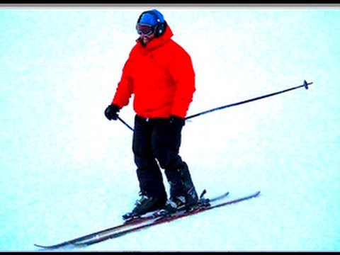 FAT DUDE SKIING!