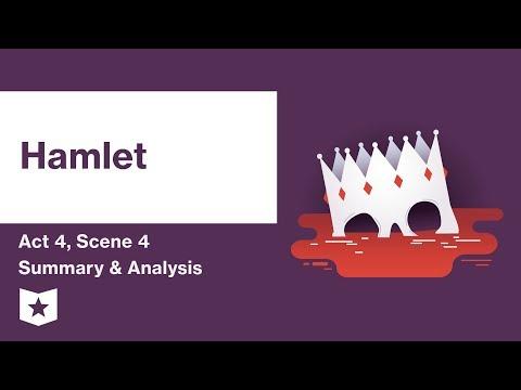 Hamlet by William Shakespeare | Act 4, Scene 4 Summary & Analysis