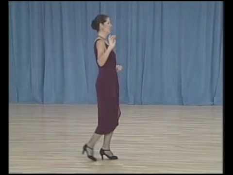 основные фигуры аргентинского танго - 08 Ochos para atras(3 часть)