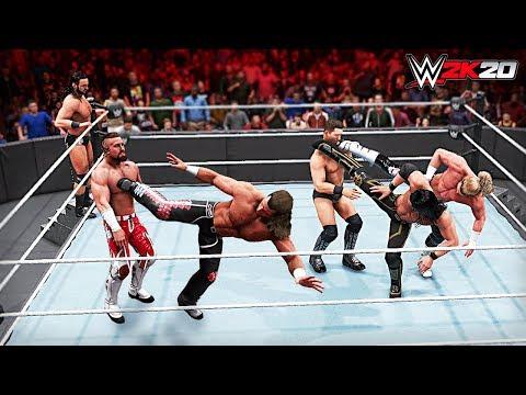 WWE 2K20 All Superkicks!!