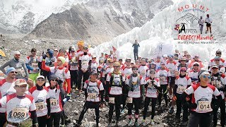 Video Worlds Highest Marathon - Tenzing Hillary Everest Marathon (Official) MP3, 3GP, MP4, WEBM, AVI, FLV November 2018