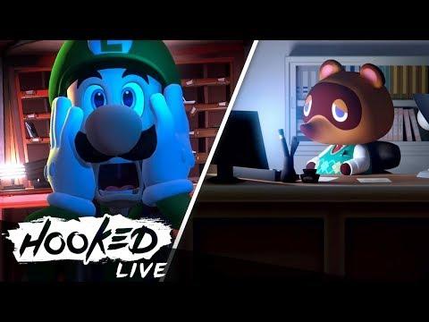 Nintendo Direct - Unsere Reaktionen zu Luigi's Mansion 3, Animal Crossing & mehr! (видео)