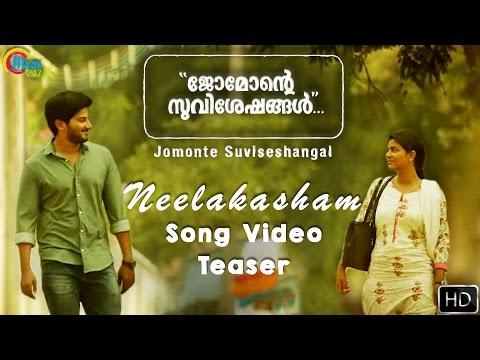 Neelakasham Song Video Teaser From Jomonte Suviseshangal