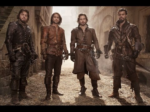 The Musketeers Season 2 (D'Artagnan's Underwater Stunt)