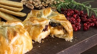 Baked Brie in Puff Pastry Recipe by Home Cooking Adventure