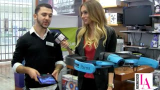For more details on these gifts, click our Brookstone link: http://www.kqzyfj.com/click-7929306-10373018-1444224344000Courtney Harvey has all the hottest holiday gifts for your guy. The Trend LA stops by Brookstone to test out trending gifts and gadgets including the Parrot Bebop Drone, BB-8 Droid from Star Wars, Big Blue Party wireless speakers and Brookstone Massage Chair.