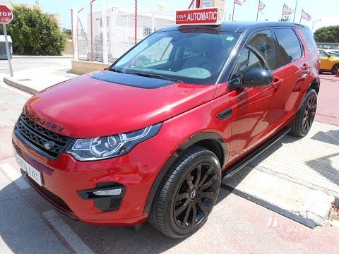 See video LAND ROVER DISCOVERY SPORT 2.0eD4 AUTO