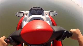 7. 2008 Seadoo RXT 215 first ride of 2012 Lake St. Clair GoPro HD