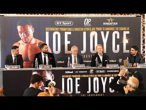 Joe Joyce Joins Frank Warren | FULL PRESS CONFERENCE