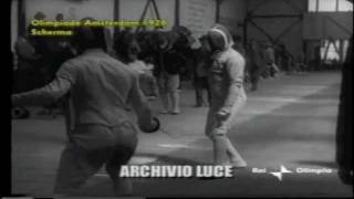 Video Scherma Spada: Gaudin's Epee at the Olympics 1928 MP3, 3GP, MP4, WEBM, AVI, FLV Juli 2018