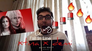 Video CHRISTINA AGUILERA - FALL IN LINE FT. DEMI LOVATO | REACTION!!! MP3, 3GP, MP4, WEBM, AVI, FLV Mei 2018