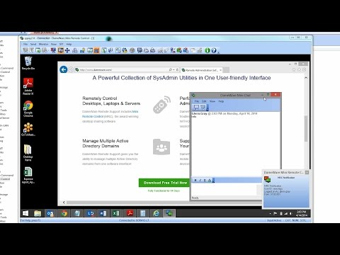 Dameware Remote Support Demo