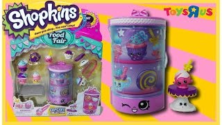 Hello princesses and welcome back to another review :) I love this adorable set  its the Cupcake Collection! I found this set at Toys R us :) I hope you enjoy this video !~~~~~~~~~Follow me on~~~~~~~~~~~Facebook: https://www.facebook.com/pages/Fairly...Instagram:https://instagram.com/fairlyevi/Twitter:https://twitter.com/fairlyevi~~~~~~~~~~~~~~~~~~~~~~~~~~Thank you princesses for watching ❤️Remember Dreams do Come True!!Shopkins Cupcake Collection Playset reviewed by Toy Genie Surprises. This Cupcake Collection is part of the Shopkins Season 3 Food Fair. It includes 8 exclusive Shopkins. The 8 exlusive Shopkins for this Cupcake Playset includes Mr. Muffin, Patty Pam, Cake Pop, and Pretty Cake Stand. It also includes, Meltin Muffin, Little Teapot, Hot Chocco, and Swiss Roll.The Shopkins Cupcake Collection Playset comes with a Sweet Treat Display Case, 1 Tray, and 1 pair of tongs.