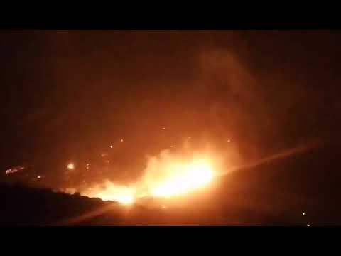 Video - Υπό μερικό έλεγχο η πυρκαγιά στο Πόρτο Ράφτη