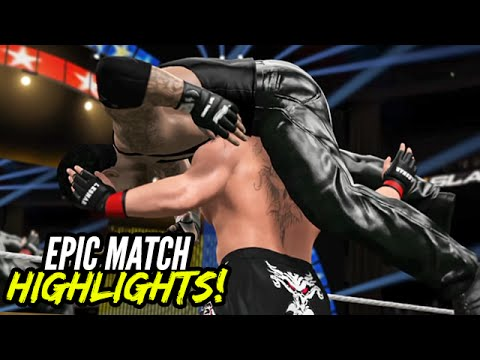 WWE 2K15 Summerslam 2015 Brock Lesnar Vs. The Undertaker | Epic Match Highlights!