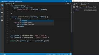 In this video, follow along with expert author Jeremy McPeak as he explains how to use JavaScript prototypes. For more information about the course, as well as more free lessons, visit http://oreil.ly/2p4CweU. When you're creating multiple objects, Jeremy explains that you should look for the things that could be considered a prototype - things that don't change, functions for example, or anything that an object would need but is never, or rarely, modified. This course helps you transition from JavaScript novice to JavaScript pro by teaching you the techniques and practices used by the seasoned practitioner. Facebook: https://www.facebook.com/OReilly/?fref=tsTwitter: https://twitter.com/OReillyMediaWebsite: http://www.oreilly.com/