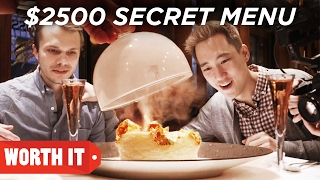 Video $7 Secret Menu Vs. $2,500 Secret Menu MP3, 3GP, MP4, WEBM, AVI, FLV Agustus 2019