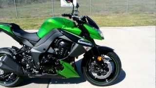 10. Overview and Review of the 2013 Kawasaki Z1000 Golden Blazed Green