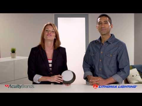 Video for FMML 7 830 WL 7 in. White Versi LED Wet Location Flush Mount 3000K