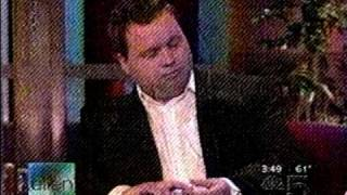 Video Ellen Degeneres interviews Paul Potts - live - 09-26-2007 MP3, 3GP, MP4, WEBM, AVI, FLV Juni 2018