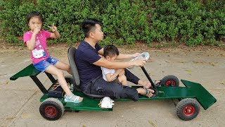 Video How to Make F1 Electric Car | DIY Go kart at Home MP3, 3GP, MP4, WEBM, AVI, FLV Juni 2018