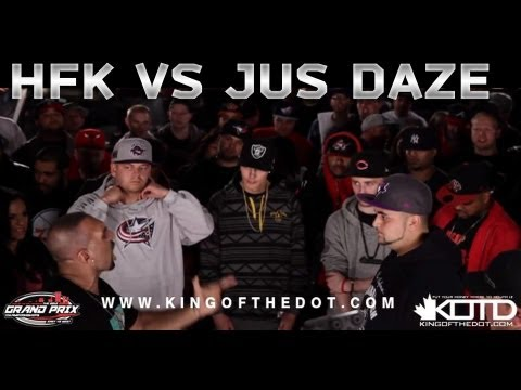 KOTD – Rap Battle – HFK vs Jus Daze