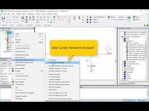 How to Perform S Parameter Simulation in ANSYS Electronics Desktop