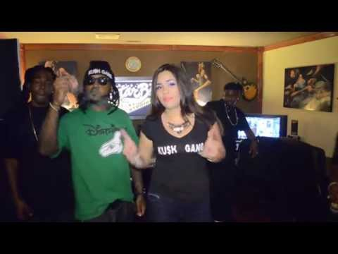 International Super Model Jacqueline Rodriguez Valle Promotes for Ku$h Gang! Official Comercial