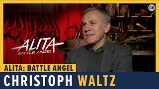 Christoph Waltz Talks 'Alita: Battle Angel' by Comicbook.com