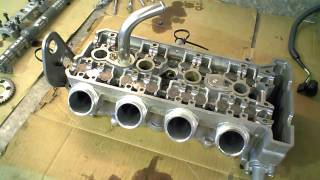 10. 2007 Yamaha Vx Cruiser 1100 Four Stroke Cylinder Head 821A