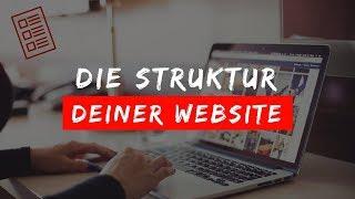 Die perfekte Struktur deiner Website!