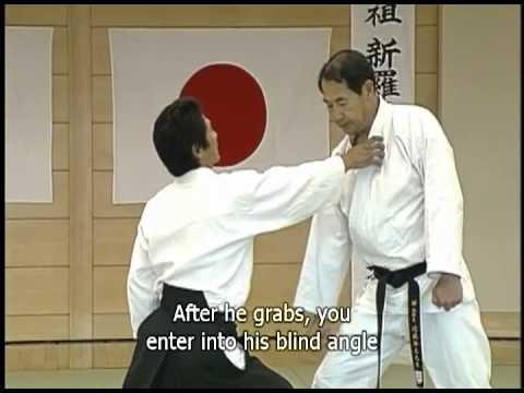 Highlights of Daito-ryu Aikijujutsu instructional video by Katsuyuki Kondo, Menkyo Kaiden