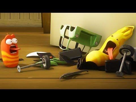 LARVA - CRASH | Cartoon Movie | Cartoons For Children | Larva Cartoon | LARVA Official - Thời lượng: 36 phút.