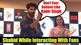 Shahid Kapoor WARNING To Fans 😡😡😡 | Mere Sohneya Song Launch #KabirSingh #Tseries