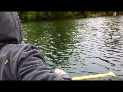 Un maskinongé monstre dans la rivière Saint-Charles à Valleyfield