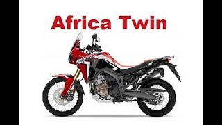 4. The Best Adventure Motorcycles - Honda Africa Twin 2017 -Test & Review