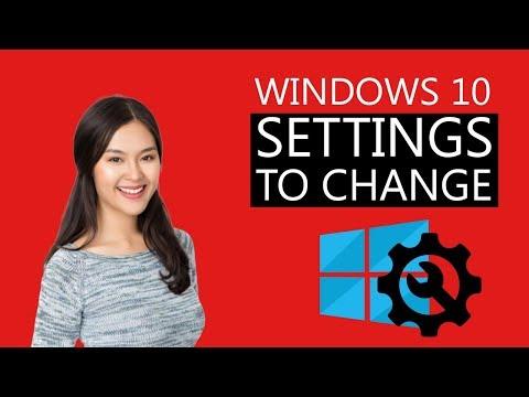 9 Windows 10 Settings you Must Change Immediately