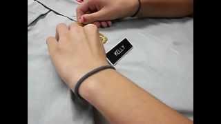 How to set up a femae JROTC uniform.