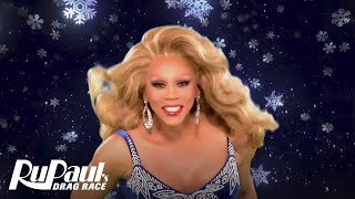 Download Lagu RuPaul's Drag Race: Green Screen Christmas 'Merry Christmas' w/ Pit Crew & Your Fav Queens | Logo Mp3