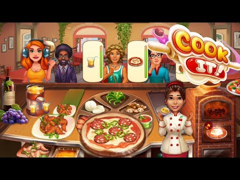 COOK IT/ PIZZA Restaurant -Those Glorious Pies /Levels 162, 163 ,166 ,168 ,172/ Part 7