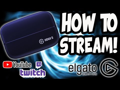 How to Stream Using the Elgato Game Capture HD (YouTube, Twitch, Facebook, etc) [EASY]