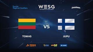 Tomas vs JUPU, game 1