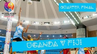 LIVE action from day 6 at the #NWYC2017 in Botswana as Uganda take on Fiji. Photo by BenDan Photography ...
