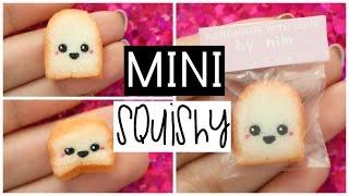 DIY MINI TOAST SQUISHY - World's Smallest Squishy!