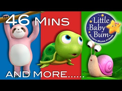 Things That Go Slow | Plus Lots More Nursery Rhymes | 46 Minutes Compilation from Little Baby Bum!
