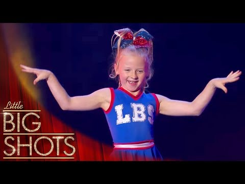 Meet Flipping Flying Aussie Cheerleader Cierra @Best Little Big Shots