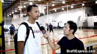 Kyle Anderson DraftExpress Interview - 2011 Boost Mobile Elite 24