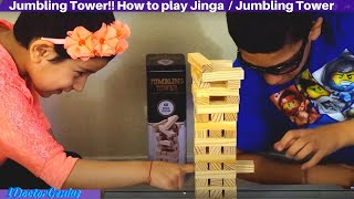 1DoctorGenius playing Jumbling Tower. A strategical and balancing game of the blocks. Please Subscribe for more videos: ...